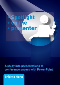 A professional PowerPoint presentation- Spotlight on the presenter