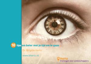 """""""Hertz, trainingen voor wetenschappers - tips om beter met je tijd om te gaan"""""""