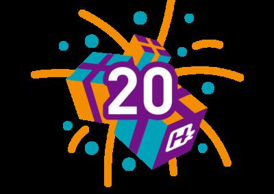 20 cadeautjes