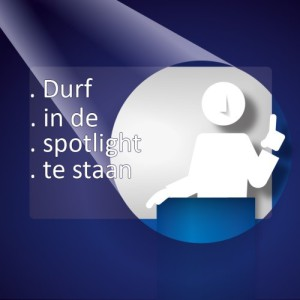 Powerpoint - Durf in de spotlight te staan